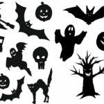 Шаблоны на тему хэллоуин