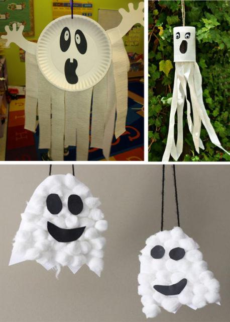 Приведения на хэллоуин